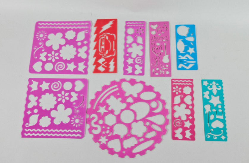 Creative Plastic Stencil Set for Kids YD-PO006