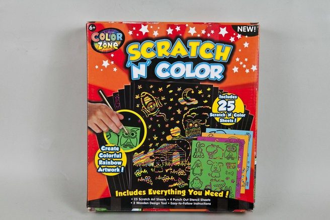 Scratch Art for Kids YD-CB002