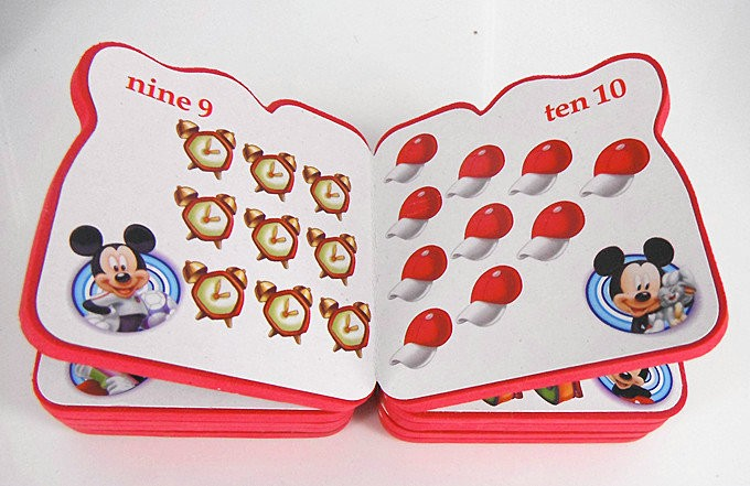 Counting and Numbers Eva FOAM BOOK for kids