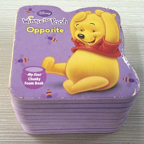 Opposite Eva FOAM BOOK for kids early education